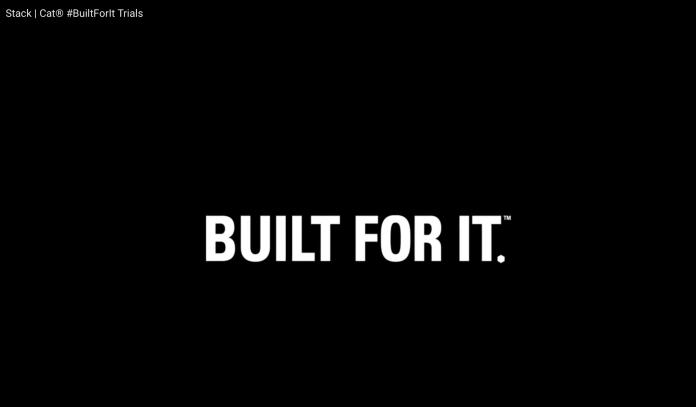 Klare Message am Ende des Spots: Built for it.
