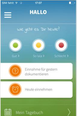 Adhärenz Apps