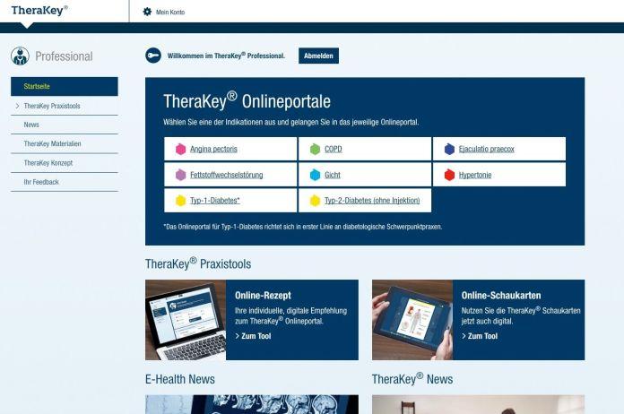 Patientenprogramme: TheraKey © BERLIN-CHEMIE