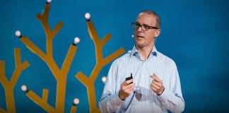 Jan Denecker bei einem der TED Talks