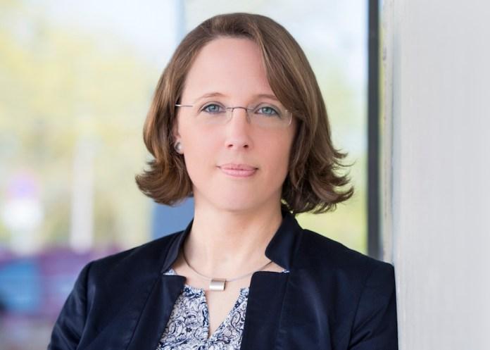 Porträt von Maren Schulz, Head of Communications bei der Roche Diagnostics Deutschland