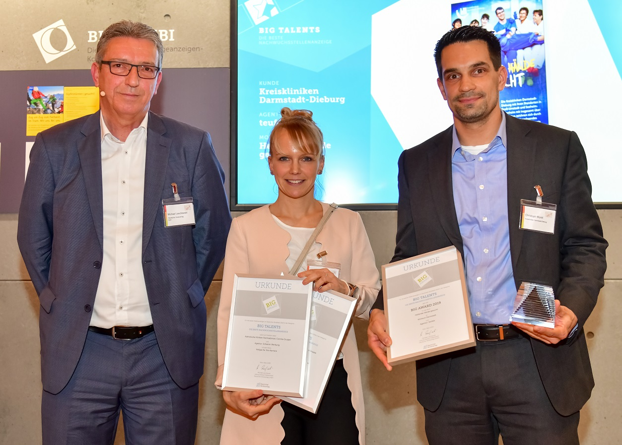 "BIG AWARD 2019: Die Gewinner in der Kategorie ""BIG TALENTS"", ©Figiel"
