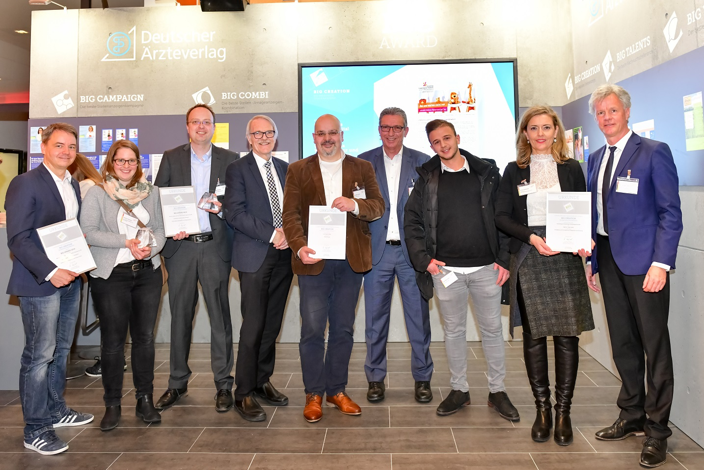 "BIG AWARD 2019: Die Gewinner und Finalisten in der Kategorie ""BIG CREATION"", ©Figiel"
