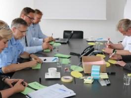 """Beim Workshop """"Innovationsforum Krankenhaus"""" wurde intensiv an den Themen """"Klinik 4.0"""", """"Arbeitgeberattraktivität"""" und """"Ergebnisse Innovationsforum 2018"""" gearbeitet, © Krell"""
