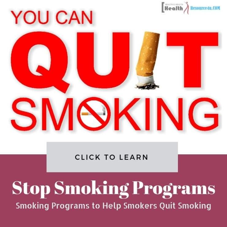 How Stop Smoking Programs