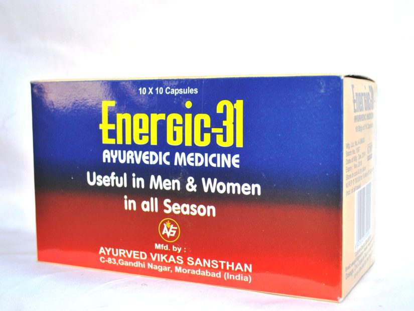 Energic 31 Capsules Benefits