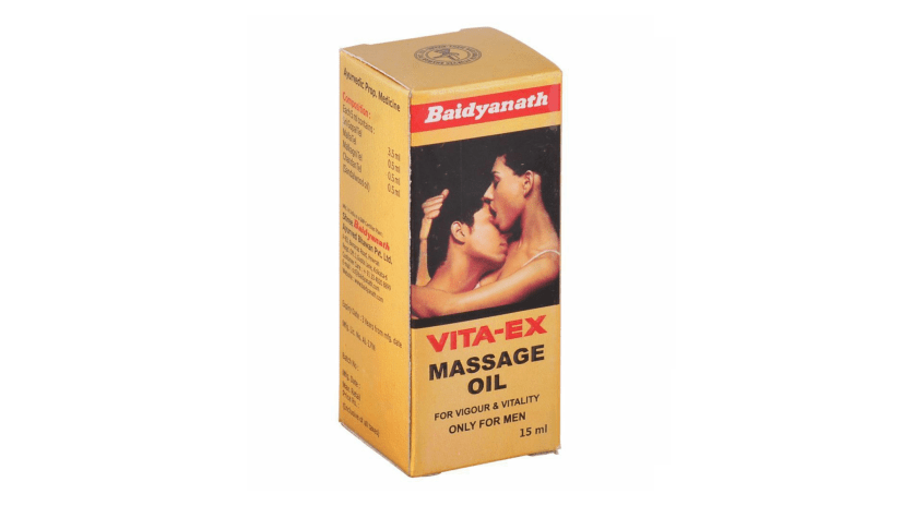 Baidyanath VITA-EX Massage Oil Review in Hindi - Use, Benefits & Side Effects