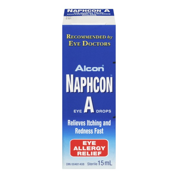 Buy Naphcon-A Allergy Relief Eye Drops – Same Day Shipping in Canada ...