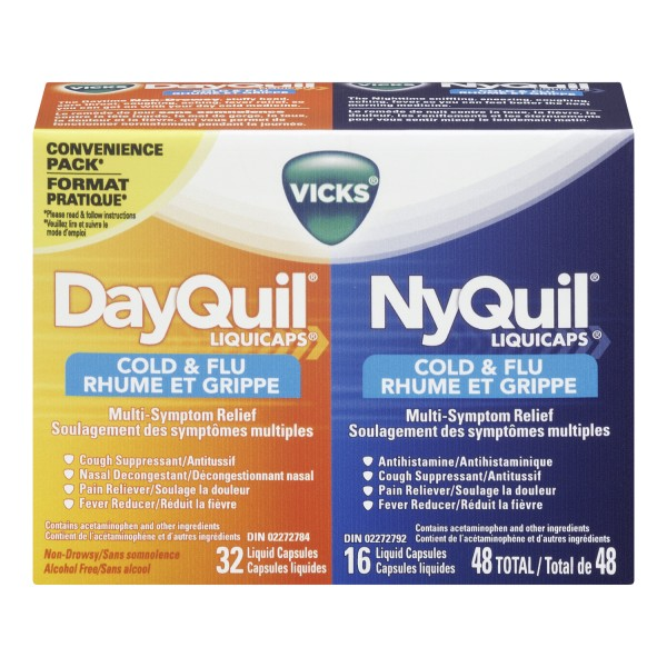vicks dayquil nyquil cold