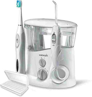 How to use a Waterpik Water Flosser to clean your teeth.