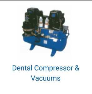 dental compressors and vacuum