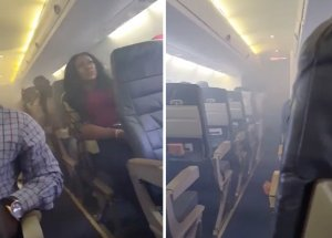 Engine Catches Fire Midflight, Passengers Are Terrified