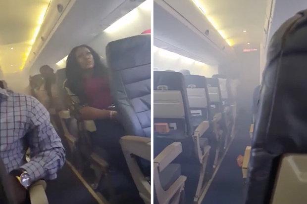 Engine Catches Fire Midflight, Passengers Are Terrified