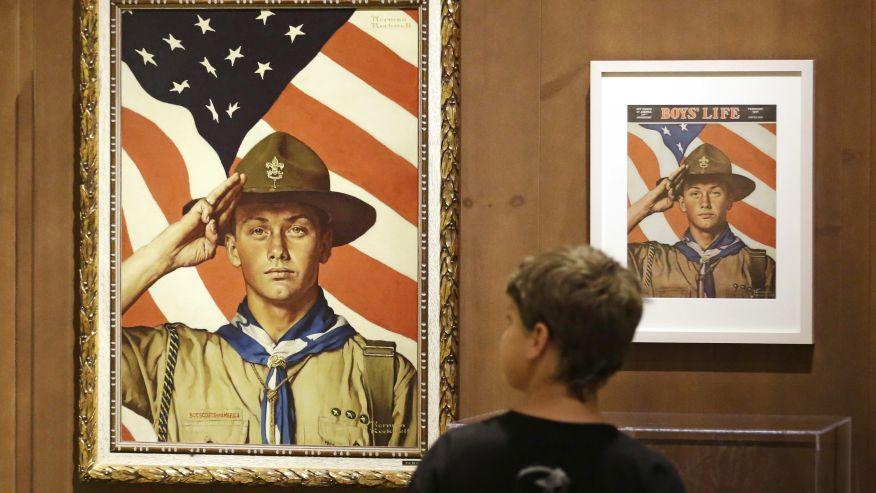 The Mormon Church has pulled out older kids from the Boy Scouts