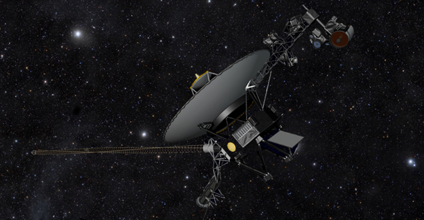 Music Can Be Heard in Space Thanks to the Voyager-2