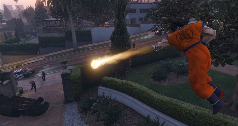GTA V Gets New Dragon Ball Mod That Allows Players To Teleport