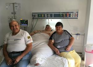 The Fattest Man in the World has Undergone a Second Op
