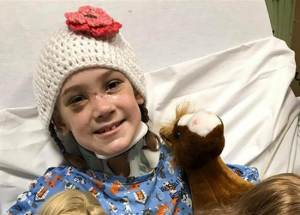 A 10-Year Old Girl Recovered From Deadly Meningitis That She Got After A Face Injury