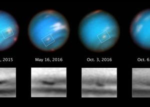 Hubble Space Telescope Images Reveal Gigantic Storm