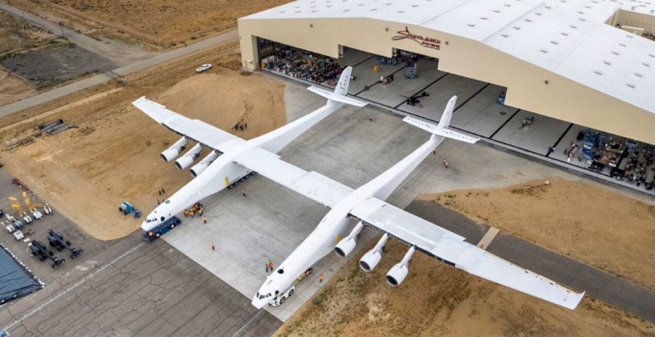 Watch Stratolaunch, The World's Biggest Plane Ever, During A Test – Absolutely Astonishing