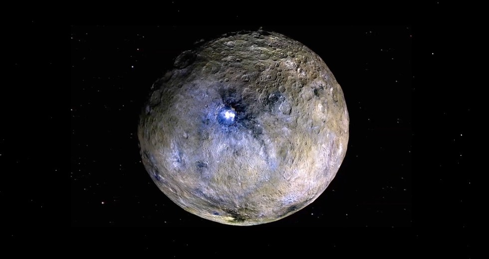 Mysterious Bright Spots On Ceres Examined Closely By NASA's Dawn Mission