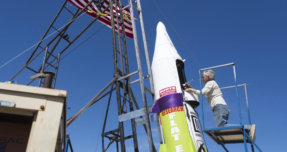 Flat-Earther Propelled Himself in the Air with Homemade Rocket