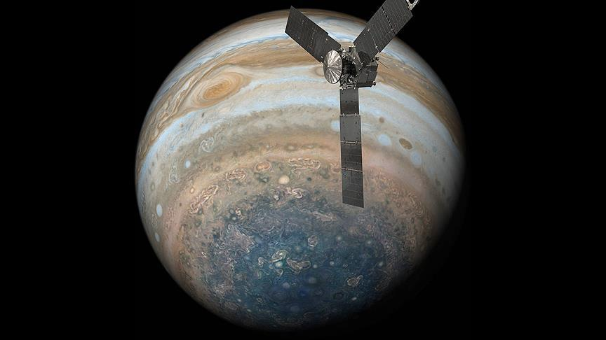 NASA's Juno Probe Has Recently Sent To Earth Two More Stunning Pics Of Jupiter's Atmosphere