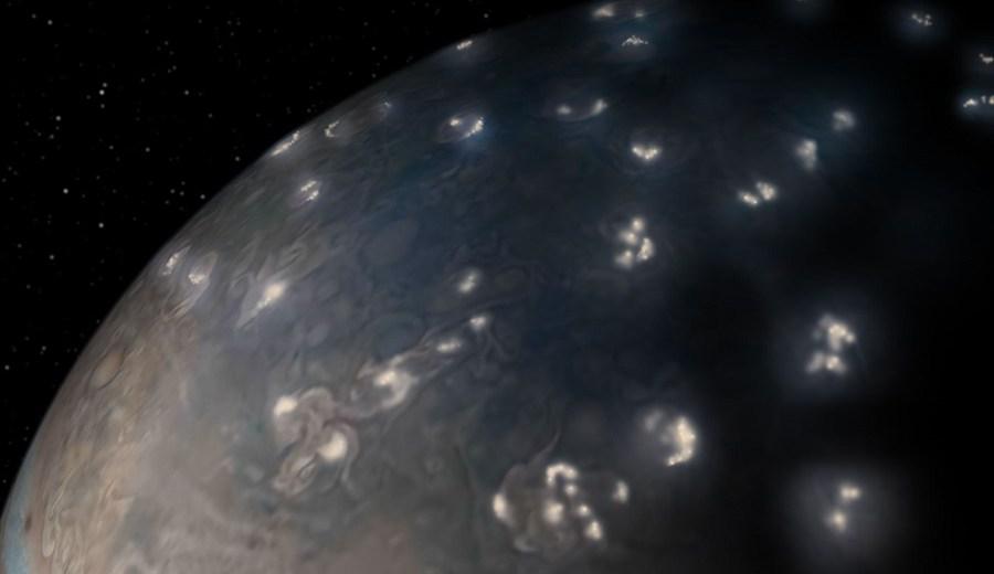 Lightning On Jupiter Is Stunningly Similar To The Lightning Storms On Earth