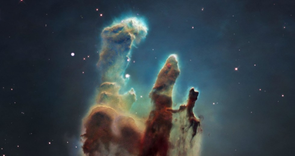 "Magnetic Fields Discovered In The ""Pillars Of Creation"" Revealed More Details On Stars Formation"