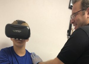 Virtual Reality, Successfully Used To Reduce The Fear Of Needles In Children