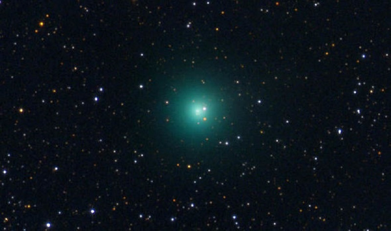 Green Comet PANSTARRS Burst Over The Earth This Week