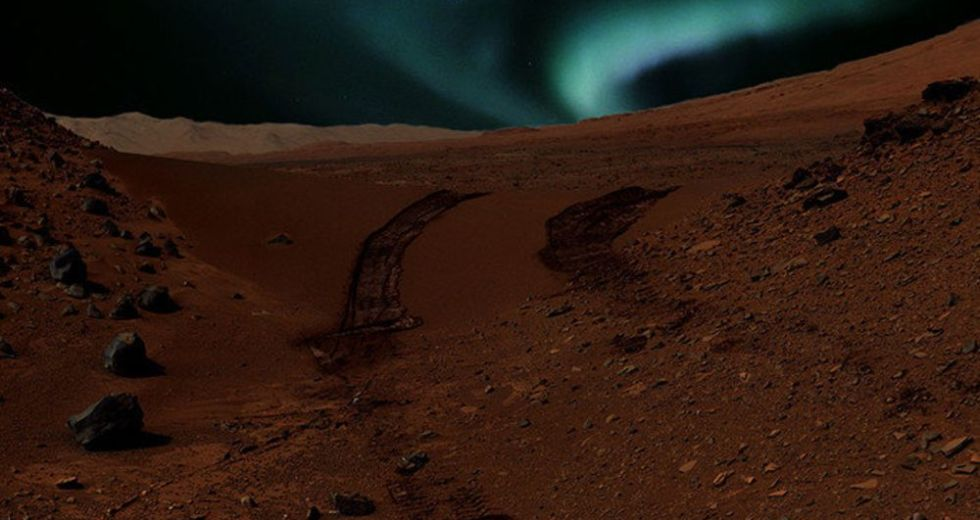 NASA's MAVEN Space Probe Discovered How Unusual Auroras On Mars Occur
