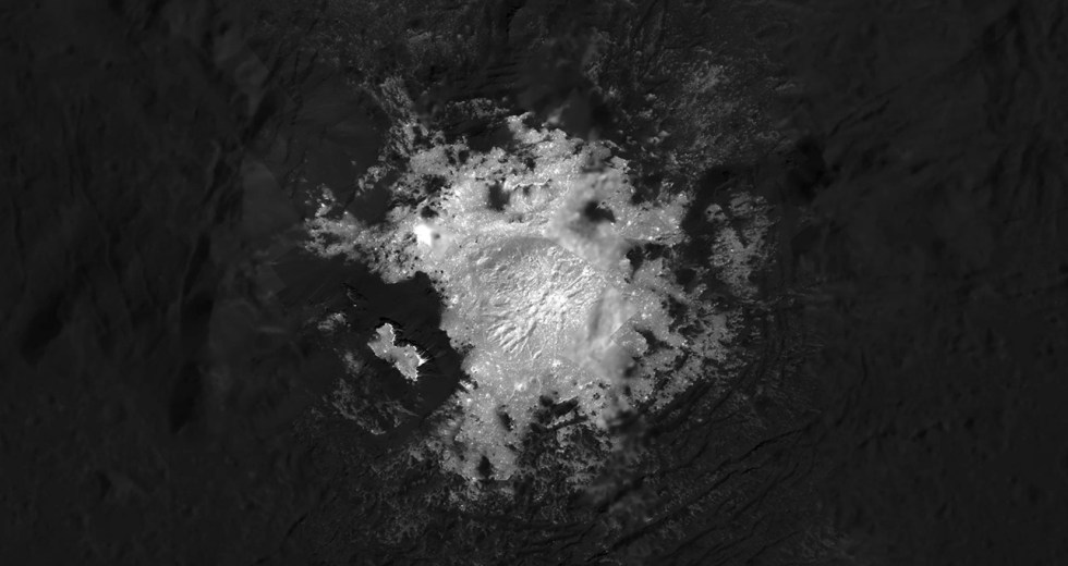 Dwarf Planet Ceres Reveals Its Weird Bright Spot In A Stunning Image
