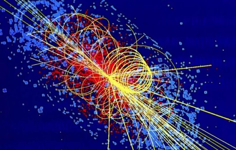 Higgs Boson Observed Breaking Down Into B Quarks