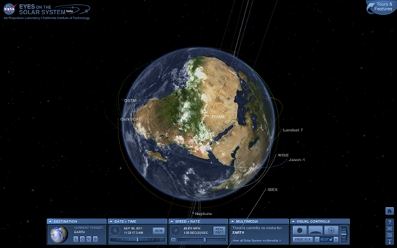 Travel to Space with NASA's New Apps