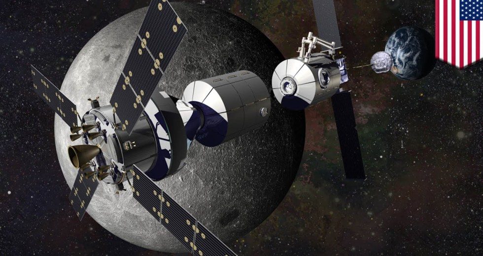NASA: Lunar Orbital Platform-Gateway the Moon-Orbiting Space Station
