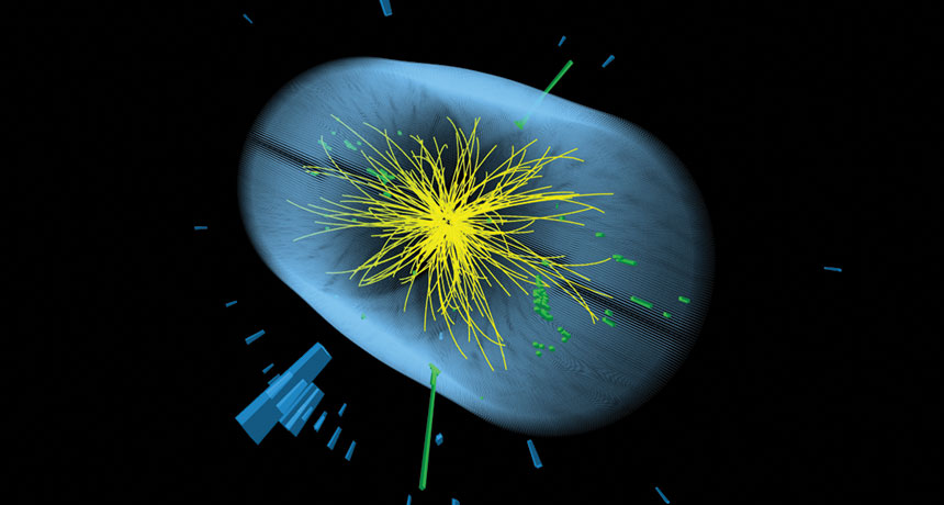 New Physics are Hinted by Strange Particle Coming out of the Earth