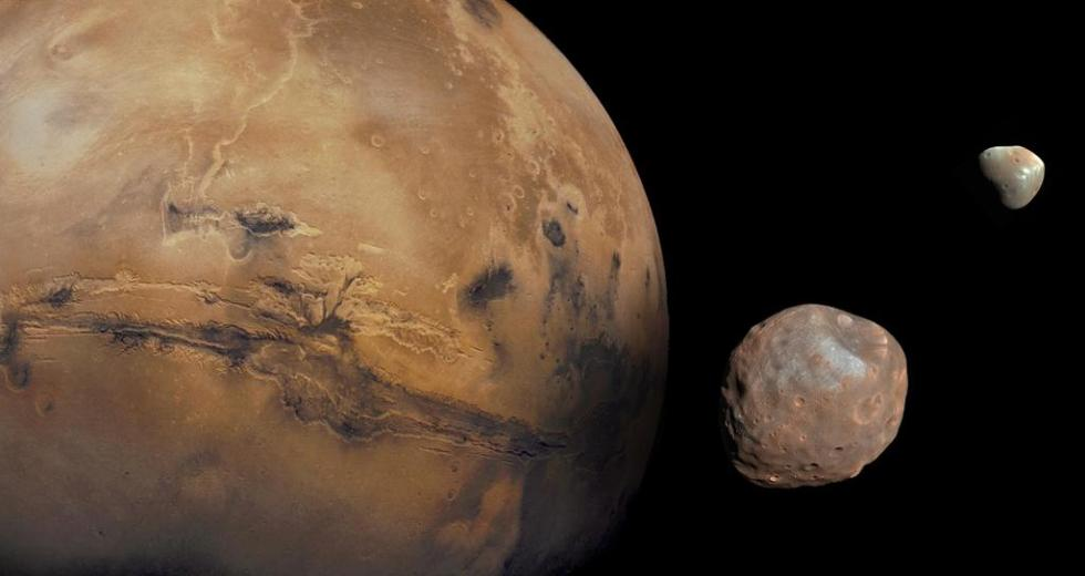 Martian Moons May Have Resulted From An Impact on Mars, A New Study Indicates