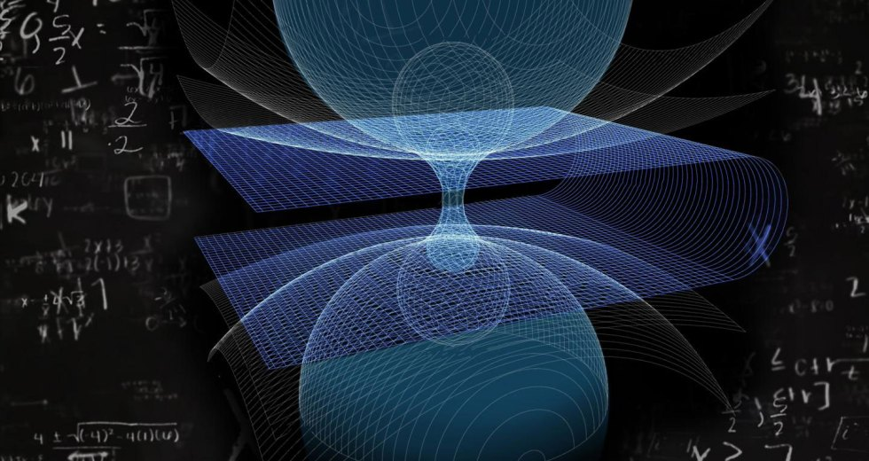 The Shape of a Wormhole Calculated by a Scientist