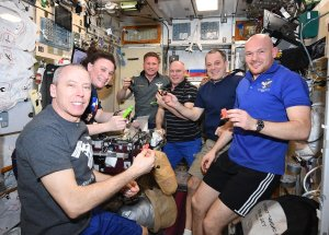 Three Station Astronauts were Brought back to Earth by Soyuz