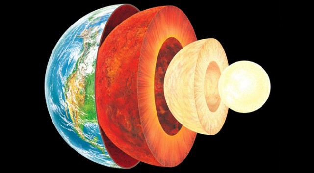 Earth's Core Is Solid But As Elastic As Gold And Platinum