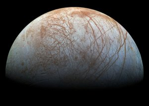 Scientists Developed The First Complete Thermal Map of Europa, the Jupiter's Icy Moon