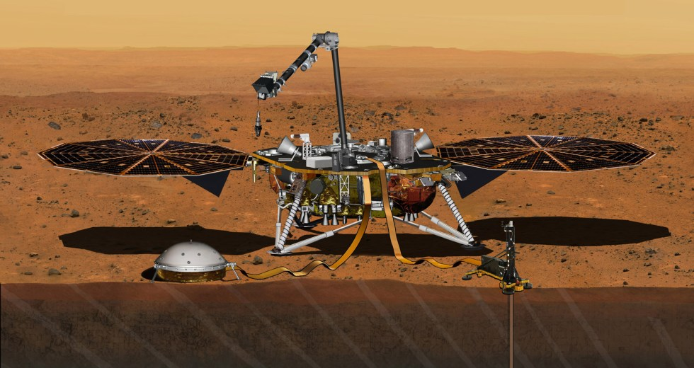 NASA's InSight Mission Planted A Seisometer On Mars, And It Gets Ready For The Next Task
