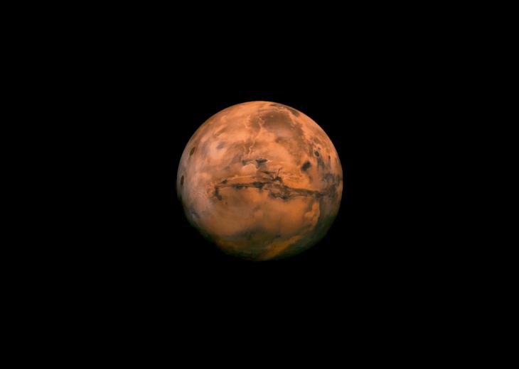 The Earth sent a souvenir of itself to the Moon