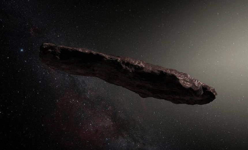 Is The Mysterious Oumuamua An Alien Space Ship?