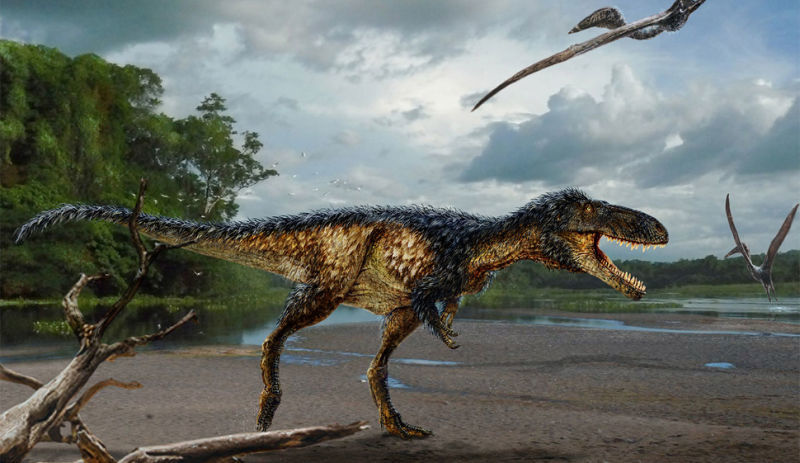 The Terrifying T. Rex Was The Size of A Deer At First