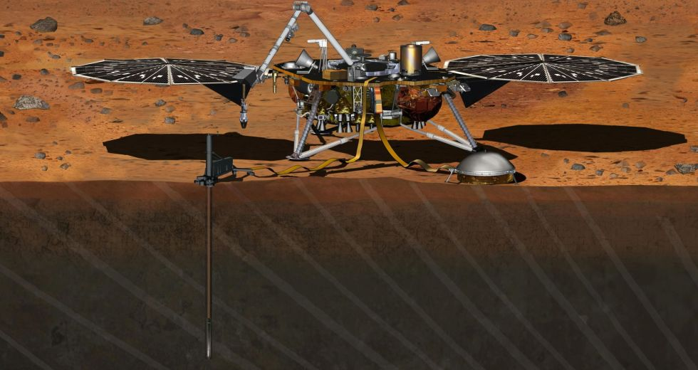 NASA's InSight Already Encountered Some Issues While Digging On Mars
