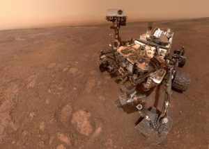 NASA's Curiosity Rover Drills Into The Surface of Mars
