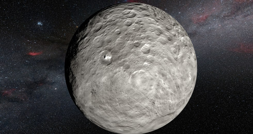 Dwarf Planet Ceres Is Geologically Active, As Per New Research On Ceres' Ahuna Mons Formation