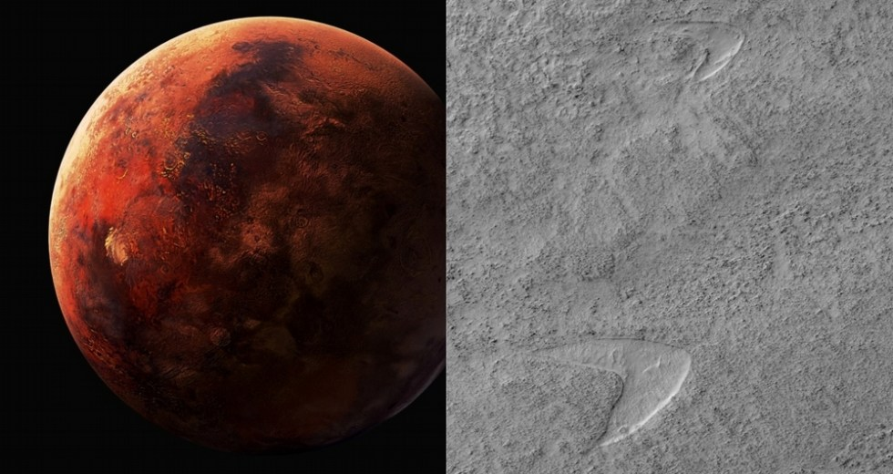 """NASA Makes Jokes On The """"Star Trek"""" Sign Spotted On Mars By The MRO"""